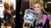 WWE SummerSlam champ Natalya wore a see-through jumpsuit you have to see