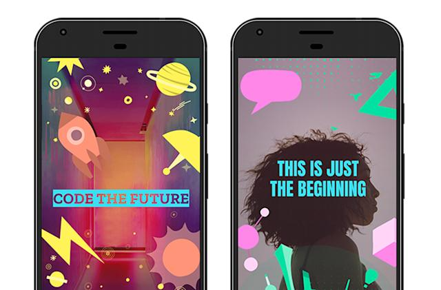 Google and Snapchat team up on geofilter coding contest for teens