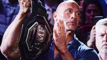 'The Rock' responds to UFC brawler's foul-mouthed tirade