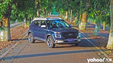 供給與需求下的巧妙平衡!2021 Hyundai Venue GLC綠林試駕