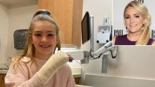 Jamie Lynn Spears Shares Photo of Daughter Maddie in the Hospital After an 'Accident at Recess'