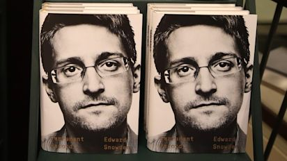 U.S. claims Snowden book violates agreement