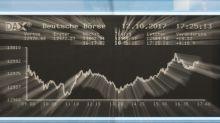 European equities ease on firmer euro