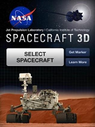 NASA launches Spacecraft 3D app for iOS, lets you explore its Curiosity and a lot more