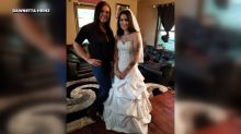 Sisterhood of the wedding dress: Bride pays it forward by lending her wedding dress to strangers