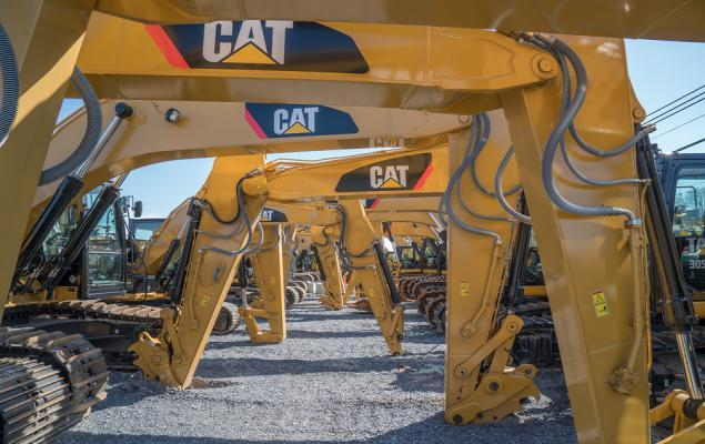 The Zacks Analyst Blog Highlights: Caterpillar, Royal Dutch, Goldman, Barrick and Centene
