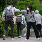 South Korea sees biggest jump in virus cases in seven weeks
