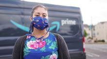 Employée chez un sous-traitant d'Amazon en temps de pandémie