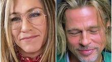 Brad Pitt And Jennifer Aniston Reunite - And Things Get Flirty