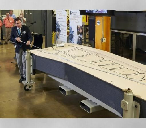 Boeing's new 3D-printed tool for making wings is so large it's set a Guinness World Record