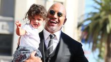 Dwayne 'The Rock' Johnson's Adorable Daughter Jasmine Steals the Show at His Hollywood Walk of Fame Ceremony