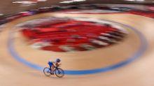 Olympics-Cycling-Fans finally get up close at Izu velodrome
