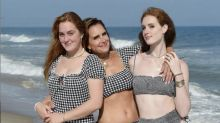 Brooke Shields swimsuit Instagram photo with daughters sends American Eagle stock flying