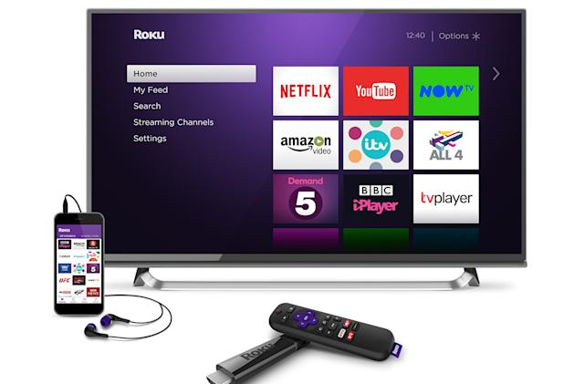 Roku's new UK players include an £80 4K streaming stick