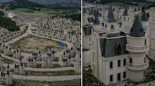 Eerie images show 'ghost town' of abandoned fairytale castles