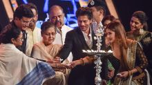 SRK, Mamata Banerjee at 25th Kolkata International Film Festival
