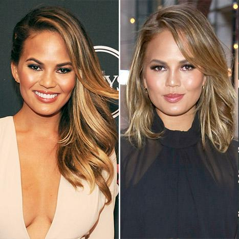Chrissy Teigen Gets A New Long Bob Haircut See The Picture
