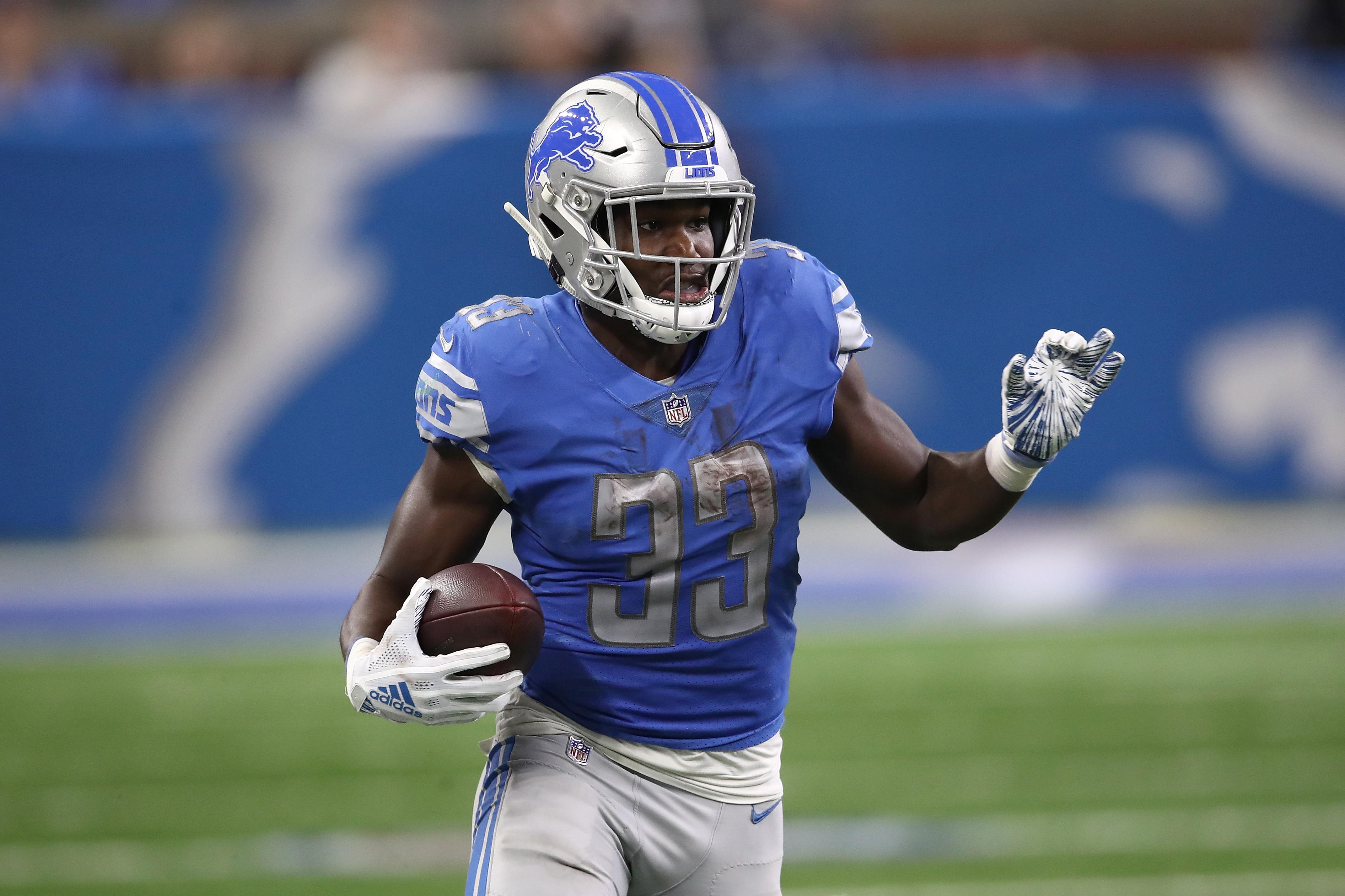 cheap for discount e88f5 b4bac DFS Running Backs: Don't pay for Kerryon Johnson this week