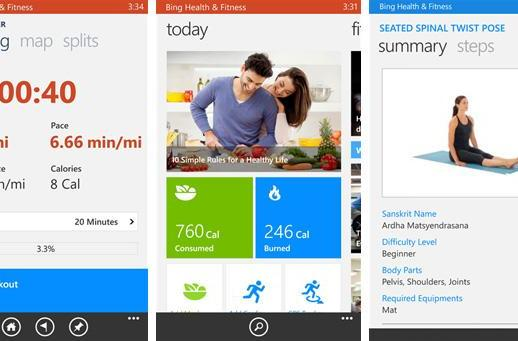 New Bing fitness app for Windows Phone tracks you after the run is over