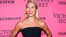 Candice Swanepoel Flaunts Baby Bump in Nude Photo Celebrating 6 Months of Pregnancy