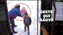 Le réflexe de cette conductrice a sauvé des enfants perdus dans le froid glacial
