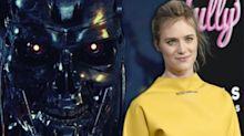 First look at Mackenzie Davis as scarred soldier-assassin on the 'Terminator 6' set