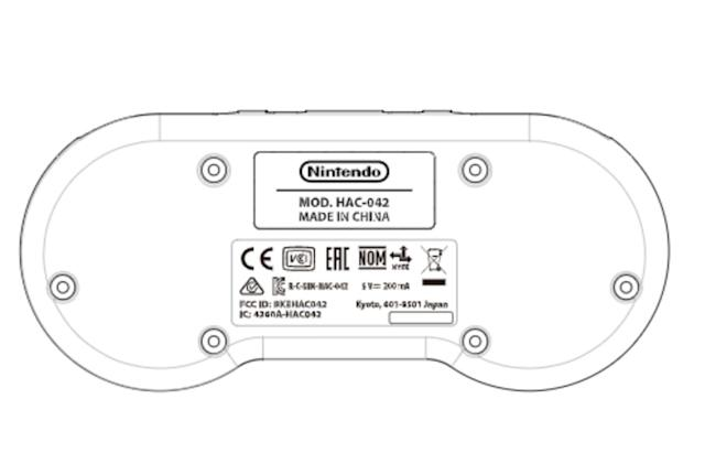 Nintendo appears to be readying a SNES Switch controller