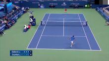 US Open: Ungeschlagen: Djokovic ringt Dzumhur nieder