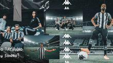 Fé pros crias! Botafogo lança novo uniforme para a temporada 2020/21