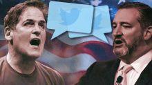 Cuban, Cruz feud highlights a new era of sports debate
