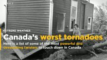 Powerful Canadian tornadoes