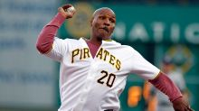 Mike Tyson throws first pitch, acts like Tony Sanchez is Evander Holyfield