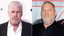 Ron Perlman reveals the gross prank he played on Harvey Weinstein