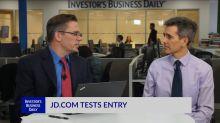 JD Com Tests Entry