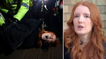 Sarah Everard vigil protester says she has 'never been so scared' after being pinned down by police