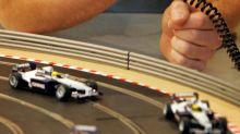 Electric cars are charged while moving at more than 60mph on new Scalextric-style track