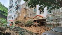 Typhoon hits South Korea after sparking landslides in Japan