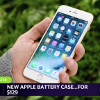 New smart battery case fetches for $129