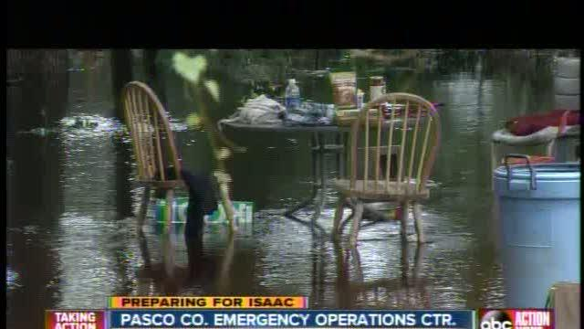 Pasco preparing for Isaac