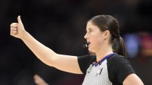 Two female referees will make NBA history when they both officiate Hornets-Magic game