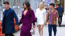Nick Jonas, Priyanka Chopra, Joe Jonas, and Sophie Turner Went on a Very New York City Double Date Last Night