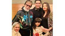 Amitabh Bachchan Expresses Gratitude Towards Fans; Shares Pic With Abhishek, Aishwarya And Aaradhya