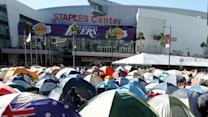 Fans camp out for final 'Twilight' film