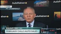 February chill hits auto sales