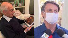 Suplicy autografa livro para Bolsonaro ler durante quarentena