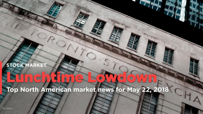 Your midday market update for May 22