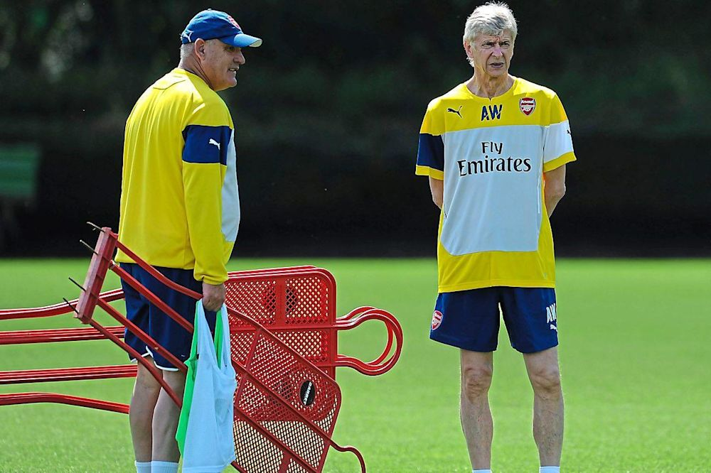 Fake news: Arsene Wenger says coach Boro Primorac is not leaving the club: Arsenal FC via Getty Images