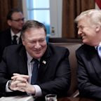 Trump praises Pompeo for his outburst at NPR's Mary Louise Kelly: 'I think you did a good job on her, actually'