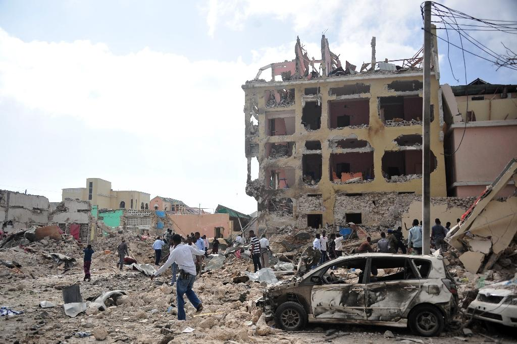 The internet blackout affected the majority of the 6.5 million people living in Somalia's south-central region (AFP Photo/MOHAMED ABDIWAHAB)