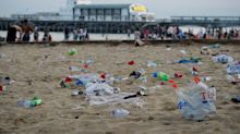 Bournemouth sunbathers leave 41 tonnes of rubbish on coastline in one day